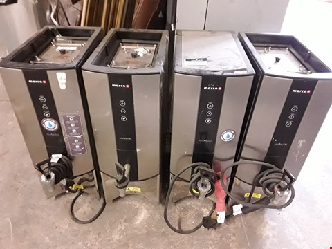 Lot 112 LOT OF 4 MARCO ECOBOILER T10 HOT WATER DISPENSERS