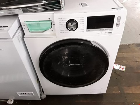 Lot 12073 HISENSE WFBL7014V 7KG 1400 SPIN WASHING MACHINE IN WHITE