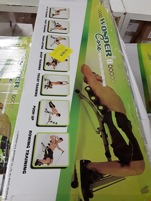Lot 1051 BOXED WONDER CORE II 6-IN-1 AB SCULPTING SYSTEM RRP £99.99