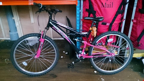 Lot 3487 TASER DUAL SUSPENSION LADIES MOUNTAIN BIKE. RRP £240.00