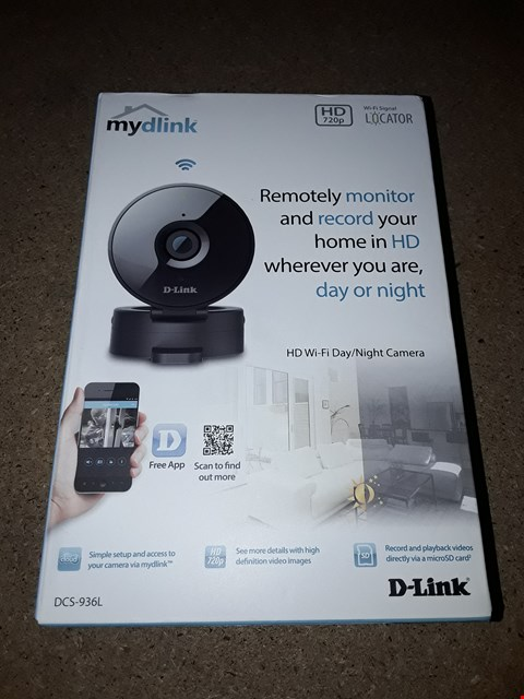 Lot 8114 MY DLINK HD WIFI DAY/NIGHT CAMERA