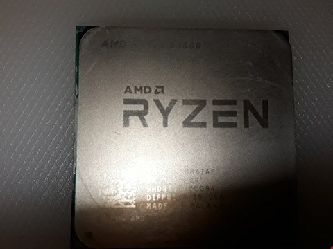 Lot 4281 AMD RYZEN 5 1600 PROCESSOR
