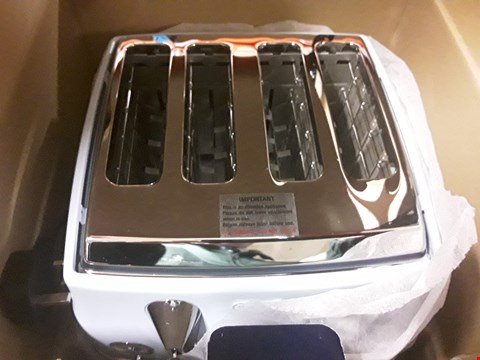 Lot 1574 DELONGHI VINTAGE BLUE 4 SLICE TOASTER