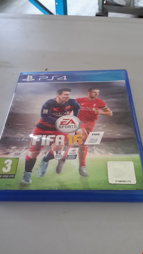 Lot 9026 FIFA 16 FOR PS4
