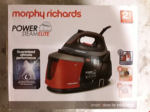 Lot 314 MORPHY RICHARDS POWER STEAM ELITE IRON