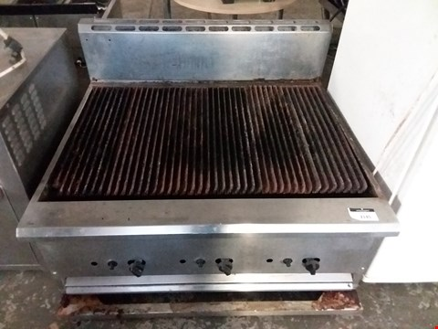 Lot 2145 COMMERCIAL STAINLESS STEEL GAS GRIDDLE