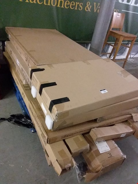 Lot 7060 PALLET OF ASSORTED FLAT PACK FURNITURE PARTS