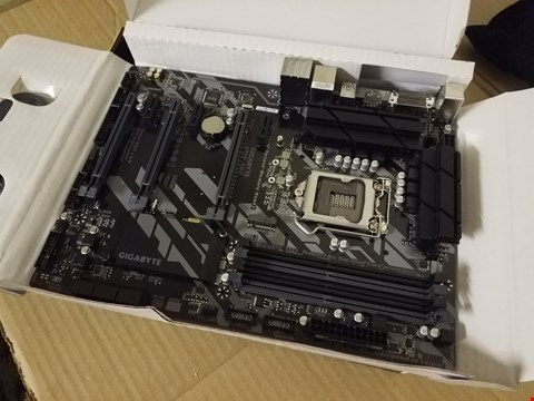 Lot 8004 GIGABYTE Z370 HD3 MOTHERBOARD