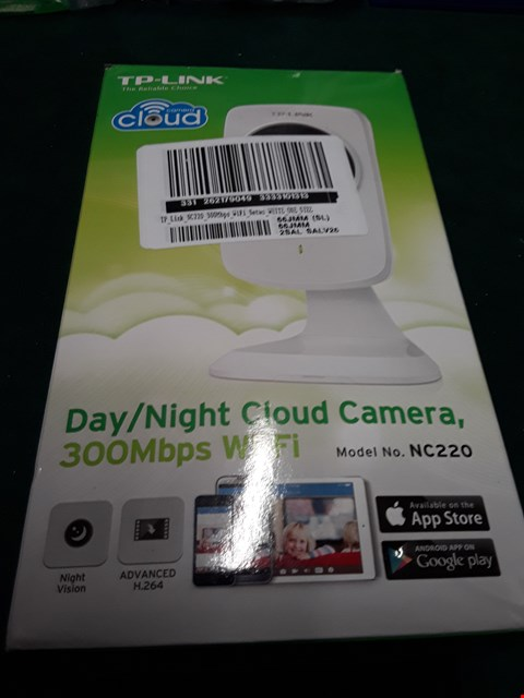 Lot 1056 TP LINK NC220 300MBPS WIFI DAY/NIGHT CLOUD CAMERA RRP £65