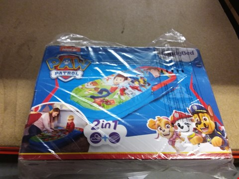 Lot 7203 PAW PATROL MY FIRST READY BED RRP £44.99