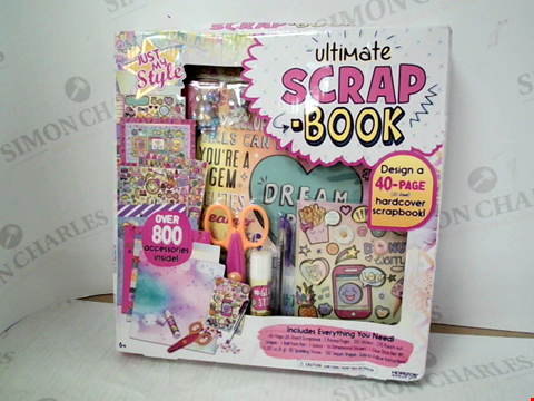 Lot 3105 JUST MY STYLE ULTIMATE SCRAP BOOK