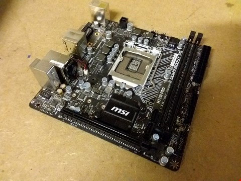 Lot 907 MSI H110I PRO MOTHERBOARD
