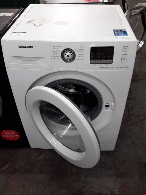 Lot 194 WF80F5E0W2W WHITE SAMSUNG 8.0KG WASHING MACHINE  RRP £429