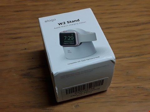 Lot 530 ELAGO W2 STAND APPLE WATCH CHARGE STATION