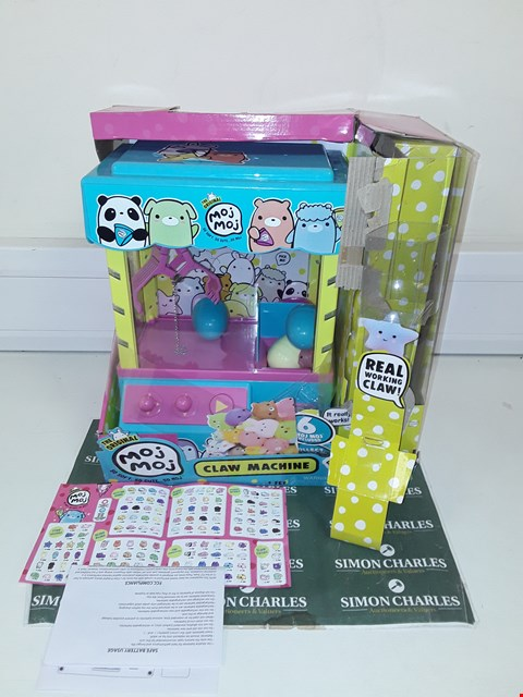 Lot 9290 BOXED CLAW MACHINE PLAY SET RRP £59.96