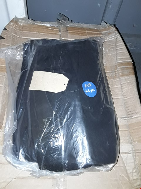 Lot 1208 BOX OF APPROXIMATELY 96 PAIRS OF BOYS BLACK PANTS