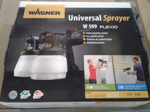 Lot 7828 WAGNER UNIVERSAL SPRAYER W599 WITH CASE