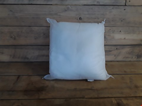 Lot 7210 WHITE COVERLESS PILLOW