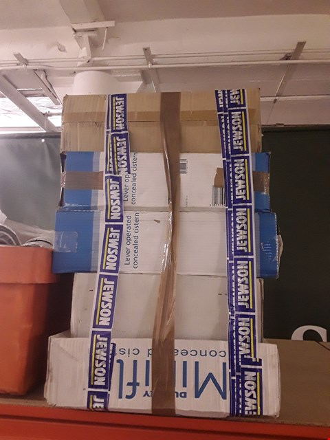 Lot 17056 5 BOXED TOILET CISTERNS