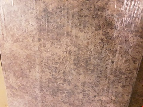 Lot 223 STONE LOOK ROUND EDGE LAMINATE KITCHEN WORKTOP - 3000X600X38MM