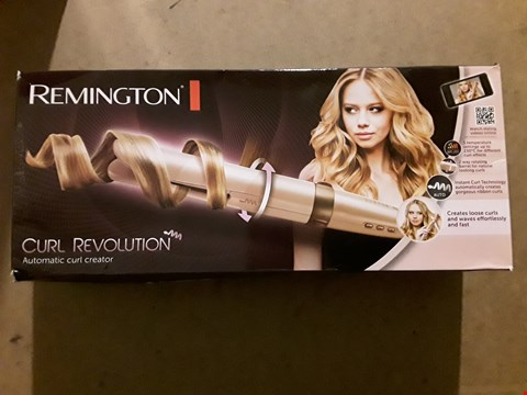 Lot 695 REMINGTON CI606 CURL REVOLUTION AUTOMATIC HAIR CURLER