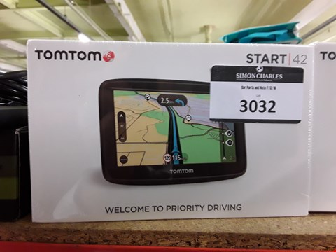 Lot 3032 TOM TOM START 42 SAT NAV SYSTEM
