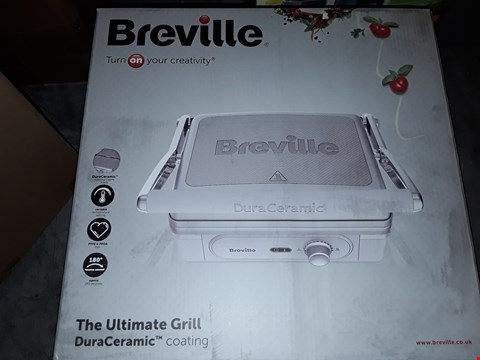Lot 684 BREVILLE DURA CERAMIC- THE ULTIMATE GRILL