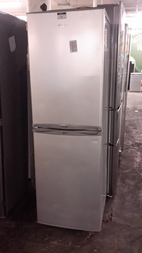Lot 57 SWAN SR5310S SILVER FROST FREE FRIDGE FREEZER  RRP £419