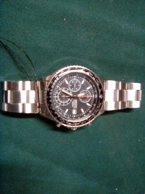 Lot 1052 WATCH IN THE STYLE OF SEIKO STAINLESS STEEL