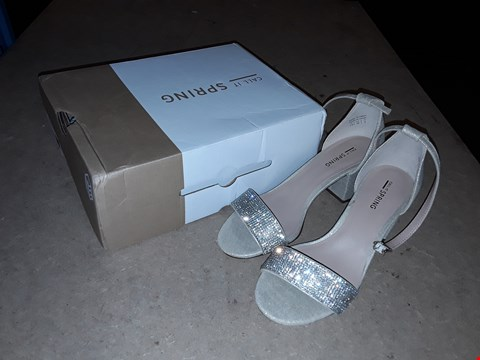 Lot 864 CALL IT SPRING THELADIEN MID HEELS SHOES BLOCK  RRP £57