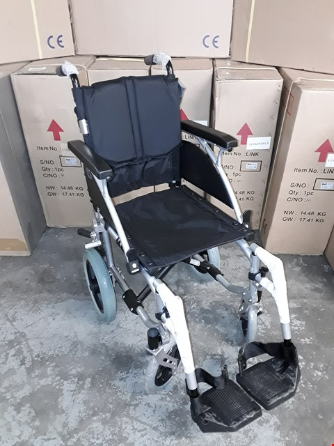 "Lot 9286 BRAND NEW DAYS LINK ATTENDENT PROPELLED WHEELCHAIR ,36 CM (14"")"
