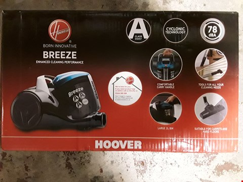 Lot 309 HOOVER BREEZE VACUUM CLEANER