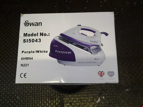 Lot 223 BOXED SWAN SI5043 STEAM GENERATOR IRON