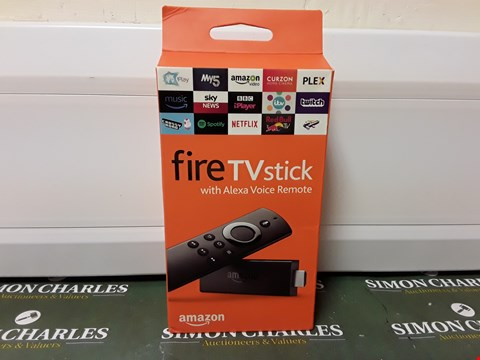 Lot 4522 BOXED SEALED AMAZON FIRE TV STICK
