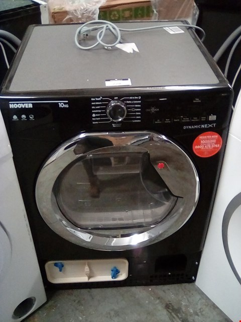 Lot 228 HOOVER DYNAMIC NEXT DXC10TCEB FRONT-LOADING ELECTRIC DRYER - 10 KG - BLACK RRP £379