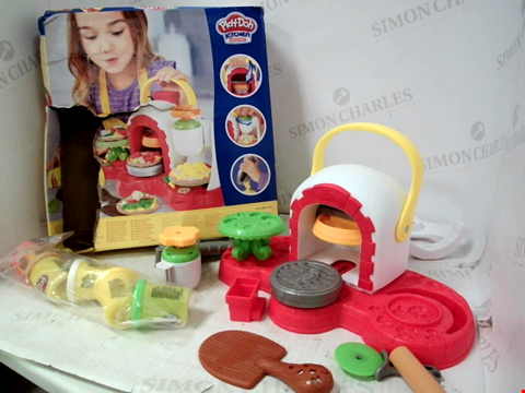 Lot 10169 PLAY-DOH STAMP 'N TOP PIZZA OVEN TOY RRP £24.99