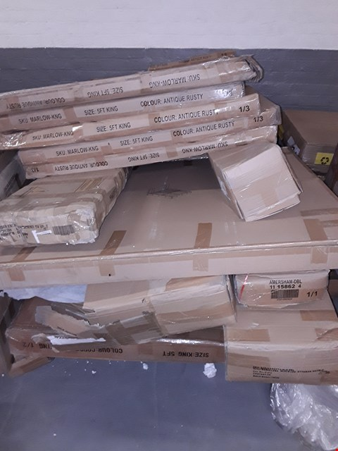 Lot 12237 PALLET OF ASSORTED FLAT PACK FURNITURE PARTS