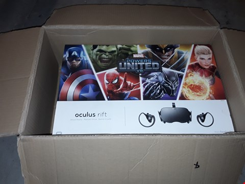 Lot 91 OCULUS RIFT + TOUCH BUNDLE MARVEL LIMITED EDITION  RRP £535