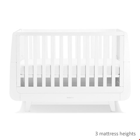 Lot 2069 BOXED GRADE 1 SNUZKOT COT BED WHITE (3 BOXES)
