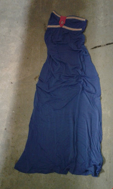 Lot 69 BOX OF APPROXIMATELY 25 BLUE/PINK SUMMER STYLE DRESS (LONG)