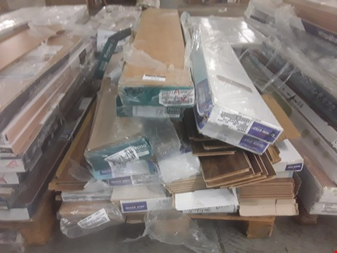 Lot 104 PALLET OF APPROXIMATELY 20 PACKS OF LAMINATE FLOORING