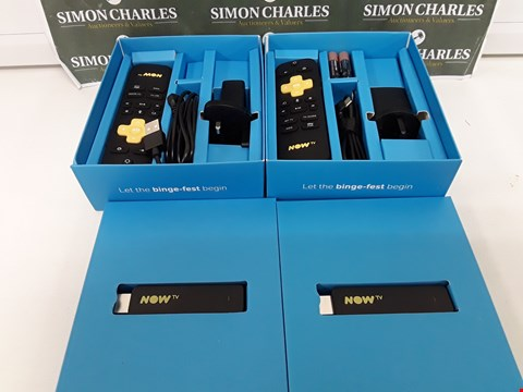 Lot 246 TWO BOXED NOW TV SMART STICKS