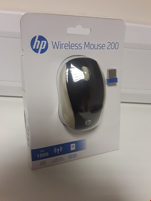Lot 1446 BOXED & SEALED HP WIRELESS MOUSE 200