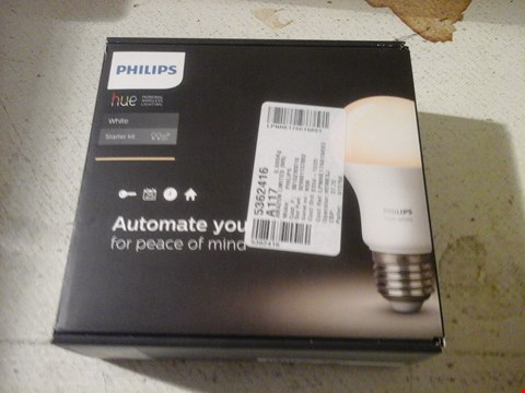 Lot 17 PHILIPS HUE LIGHTING KIT