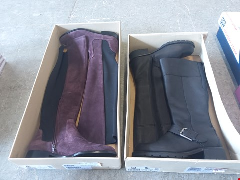 Lot 372 2 PAIRS OF BOOTS: DIANA RAE AND ADELIA DUSK
