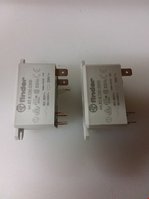 Lot 243 2 X RELAY SCHRACK RM705 RRP £16 EACH RRP £32