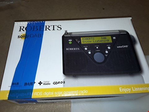 Lot 282 ROBERTS SOLARDAB RADIO