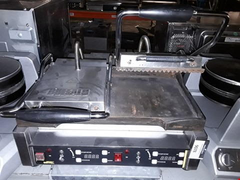 Lot 9078 BUFFALLO L554-B-02 TWO PRESS GRIDDLE PAN