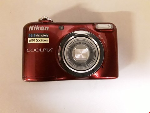 Lot 1029 NIKON COOLPIX A10 DIGITAL CAMERA