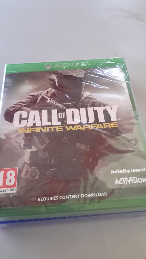 Lot 9017 CALL OF DUTY INFINITE WARFARE FOR XBOX ONE